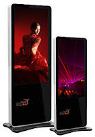 vertical digital signage display