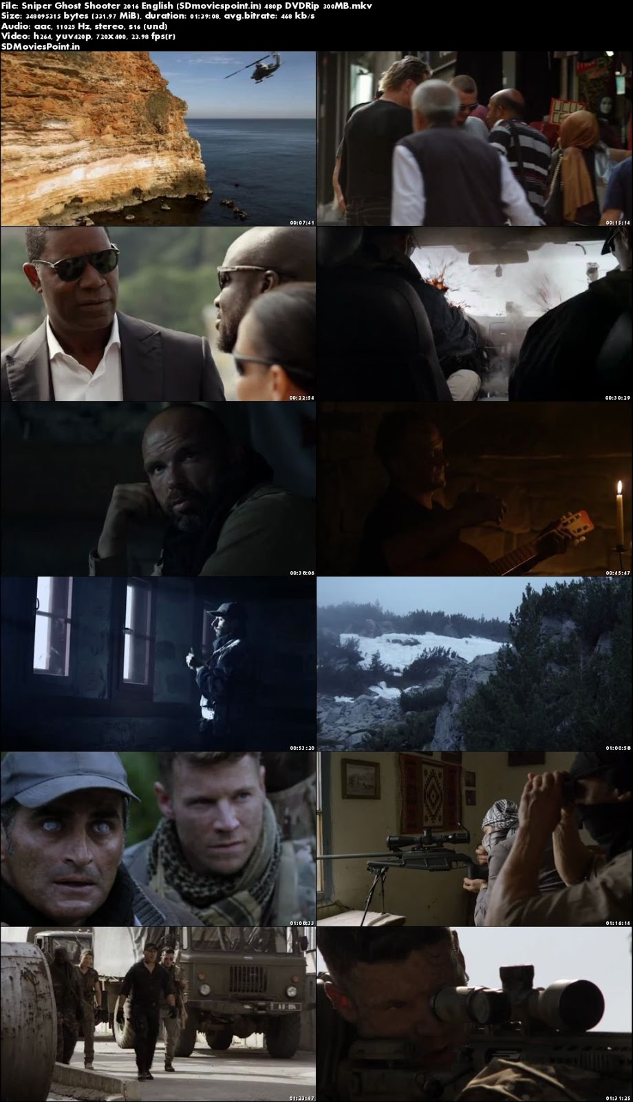 Poster Sniper Ghost Shooter 2016 Full HD Movie Download