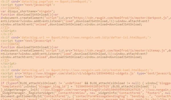 Menggabungkan Semua Javascript Bisa Mempercepat Loading Blog Dengan Defer