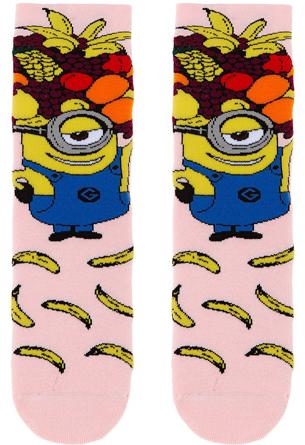 calcetines antideslizantes para niñas Calzedonia de Los Minions