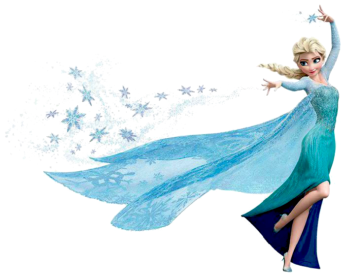 elsa face clipart - photo #46