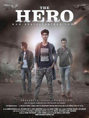 The Hero Action Movie Poster Tutorial