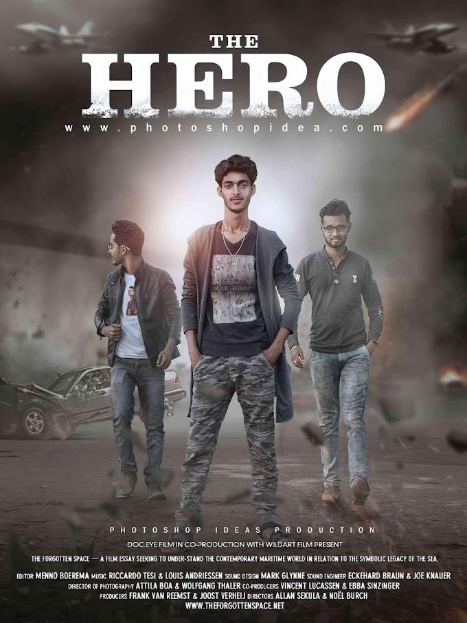 Photoshop Ideas - The Hero Action Movie Poster Tutorial - Photoshop Manipulation