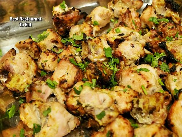 Royal Darbar Restaurant Buffet Malai Tikka