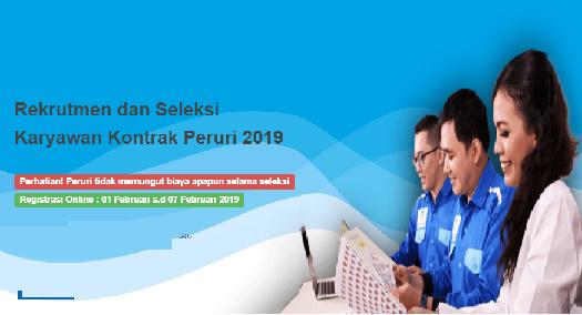 yang menerima kepercayaan dari Pemerintah Republik Indonesia untuk melakukan pencetaka REKRUTMEN KARYAWAN KONTRAK PERURI 2019 UNTUK LULUSAN SLTA HINGGA S1