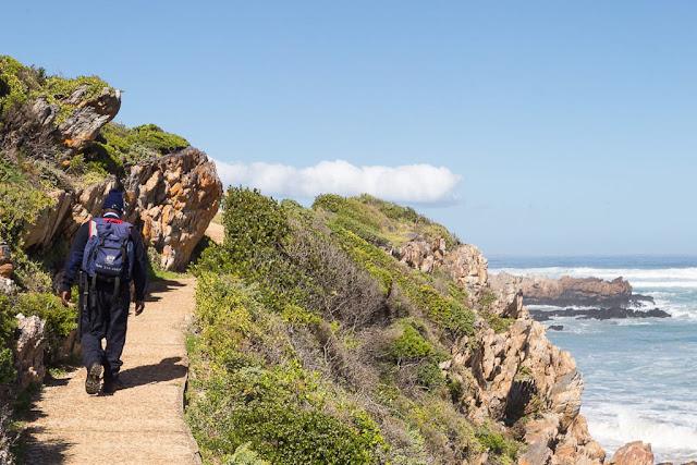 Personal de seguridad de los cliff paths de Hermanus, Sudáfrica