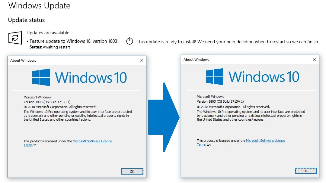 Donline's Blog: Windows 10 Spring Creators Update - Mk2!!!