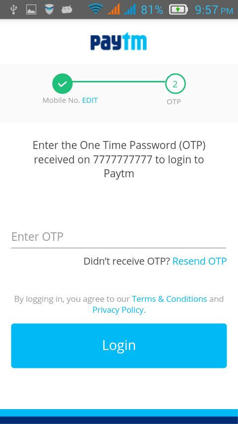 Android Examples: Paytm Integration Android Example