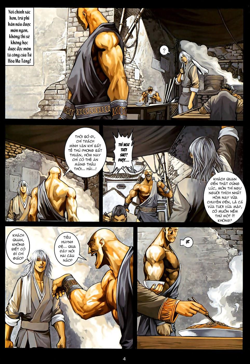 Ôn Thuỵ An Quần Hiệp Truyện Phần 2 chapter 30 trang 5