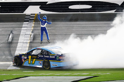Ricky Stenhouse Jr.'S Becomes the Fifth Cup Series Driver with Multiple Wins In 2017. #nascar