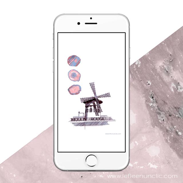 le moulin rouge, fond d'écran, FLE, le FLE en un 'clic'