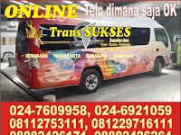 Jadwal Shuttle Trans Sukses Semarang - Jogja PP