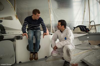 Thomas Ruyant et Souffle du Nord se préparent au Vendée Globe.