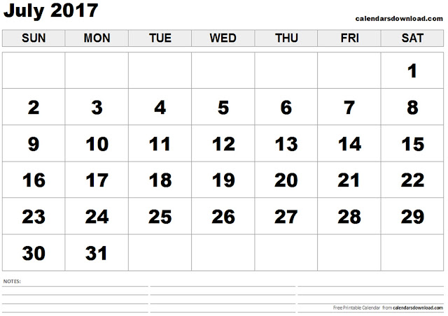 July 2017 Printable Calendar, July 2017 Calendar, July 2017 Calendar Template, July 2017 Calendar Printable, July 2017 Calendar PDF, July 2017 Calendar Word, July 2017 Calendar Excel, July Calendar 2017