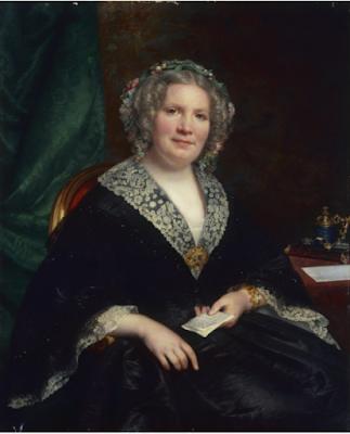Portrait de Césarine Huet, épouse de Louis-Paul Petit (1861, Sophie Rude