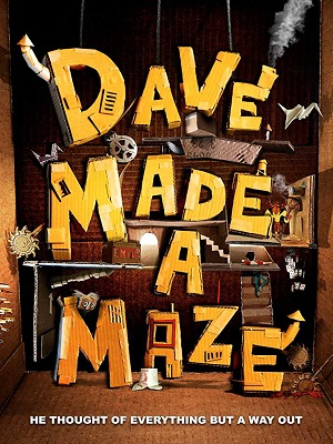 Dave Made a Maze (2017) Movie 720p WEB-DL 650mb