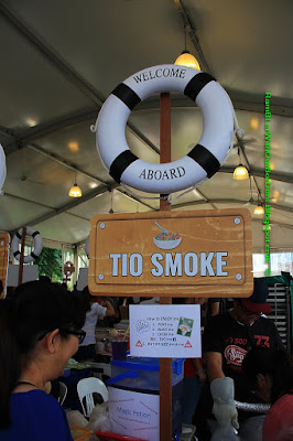 Tio Smoke, Chow House, DBS Marina Regatta, Singapore