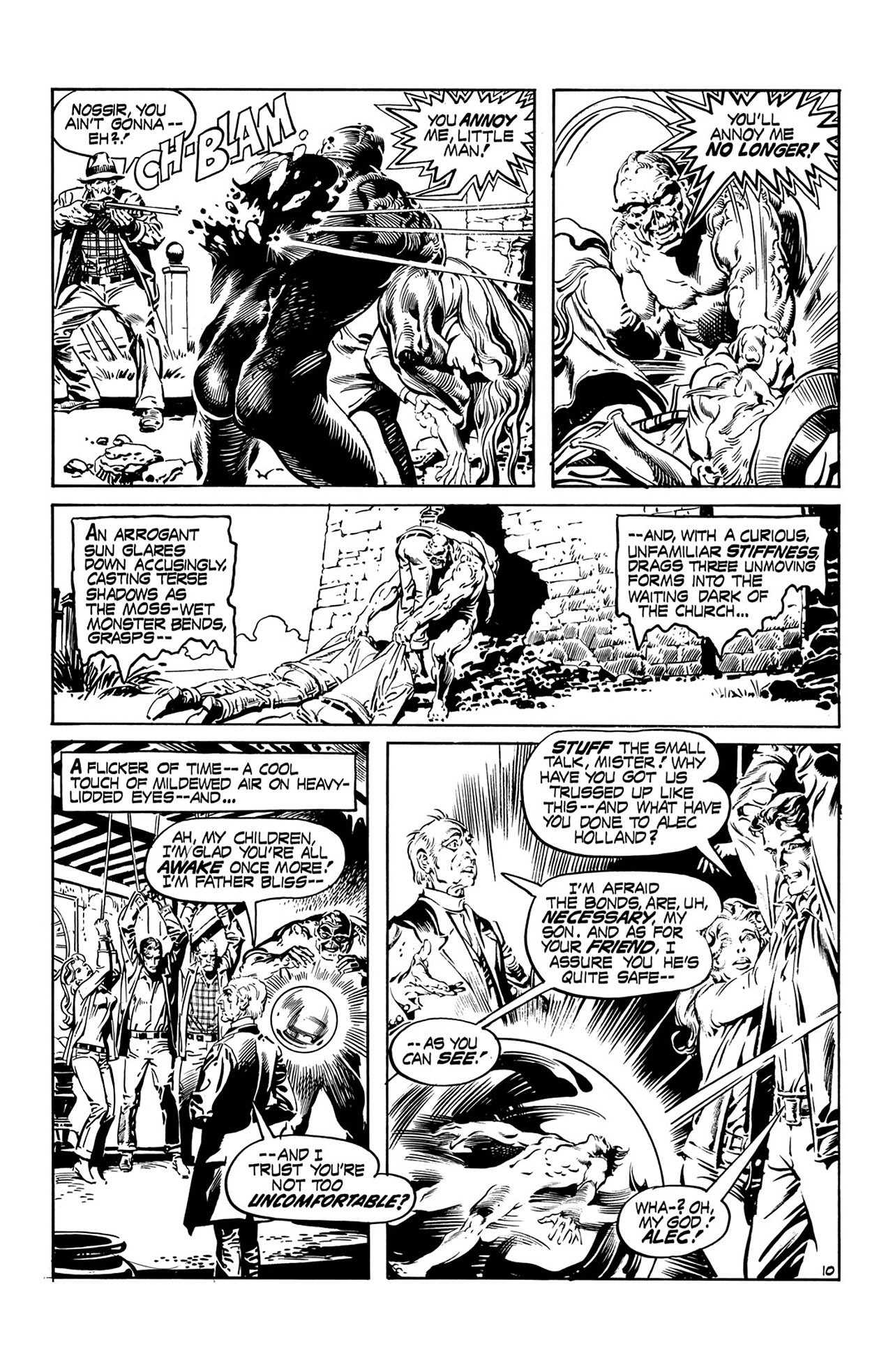 Swamp Thing (1972) Issue #15 #15 - English 11