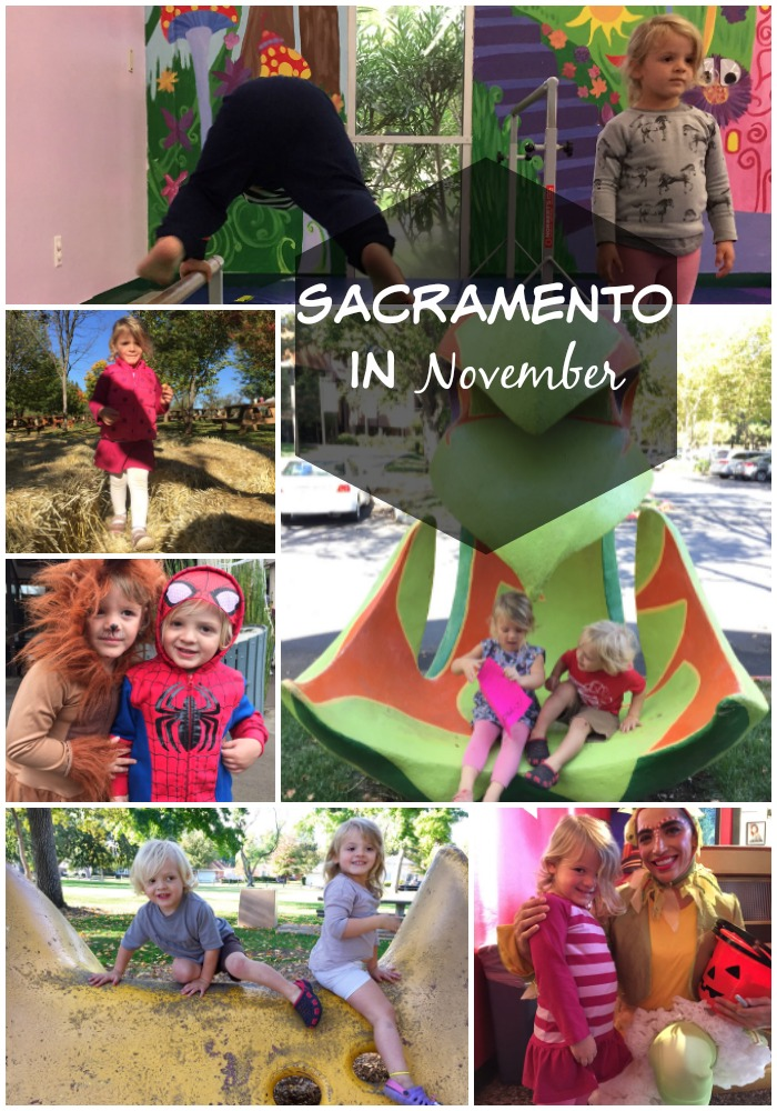 November in Sacramento