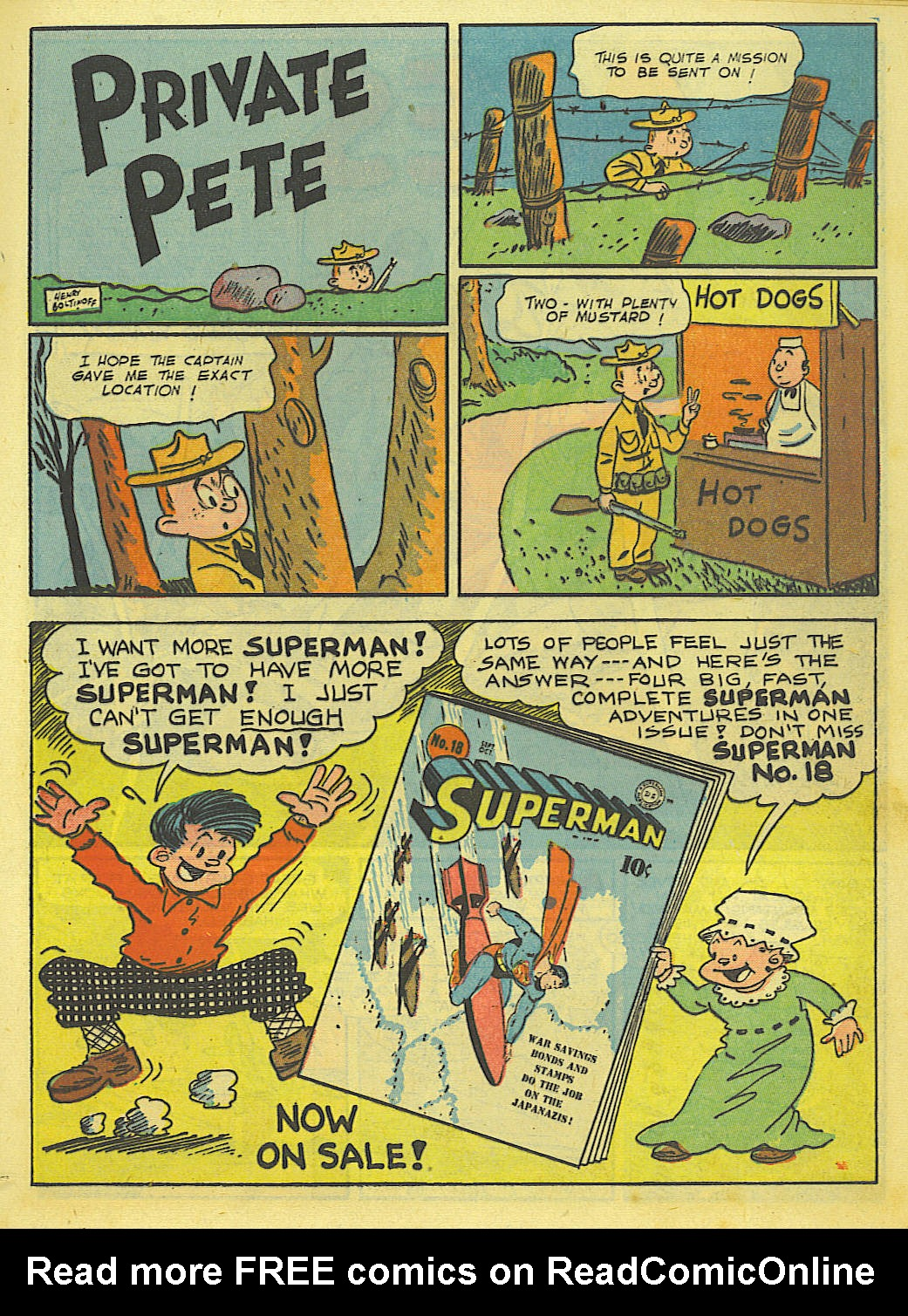 Read online Action Comics (1938) comic -  Issue #52 - 31