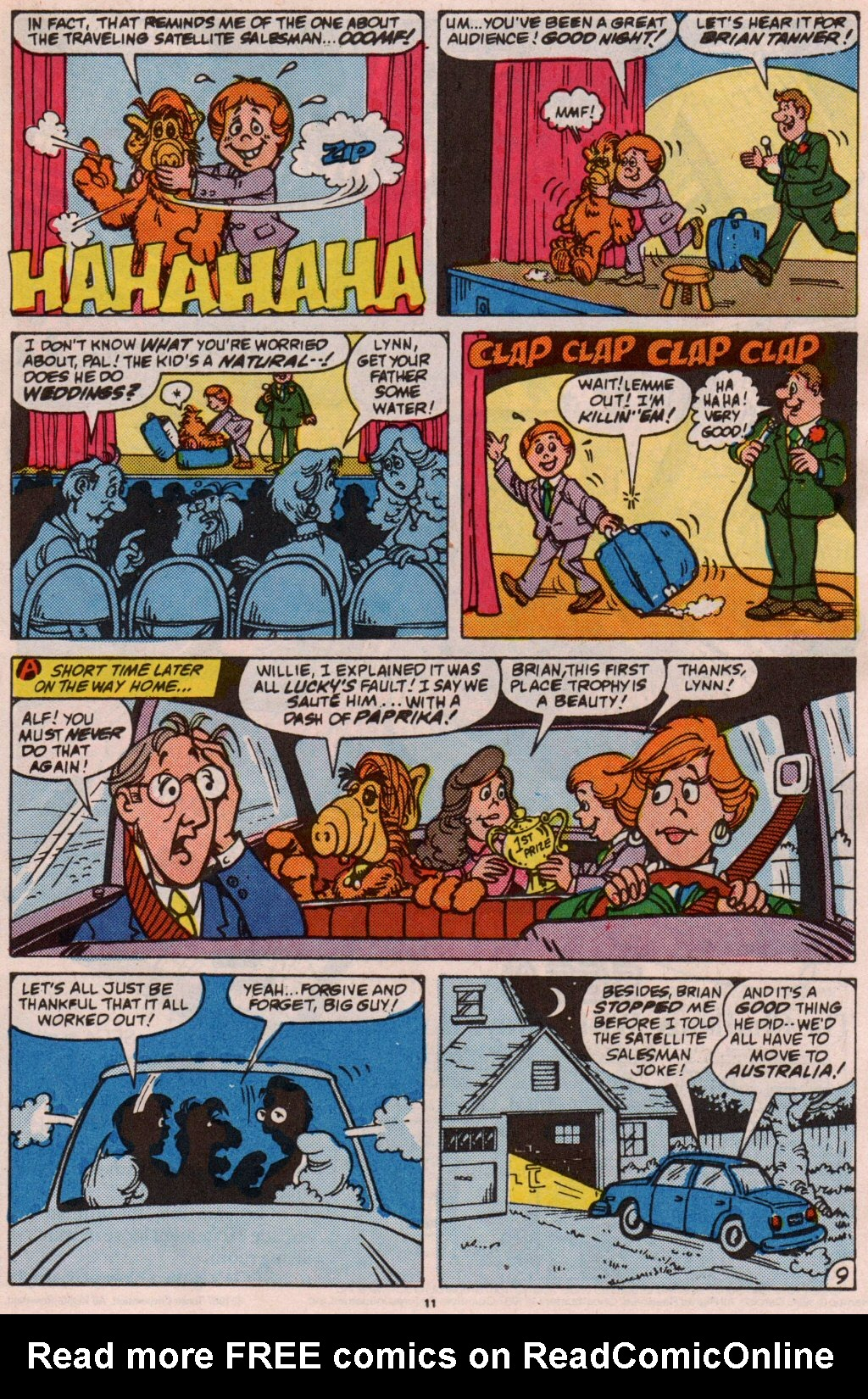 Read online ALF comic -  Issue #5 - 11