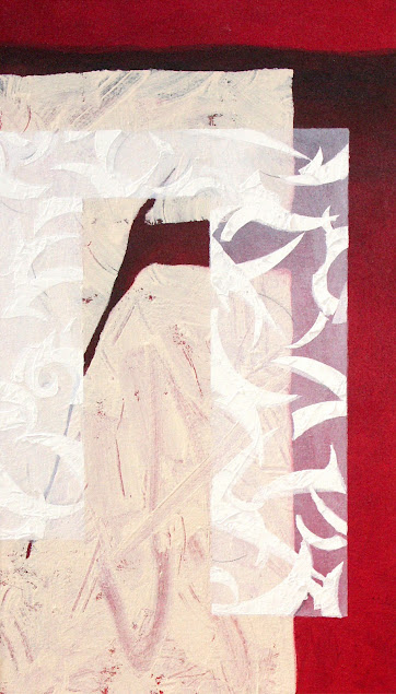 Provocation - Painting from the Fragments Series - Rosemary Marchetta