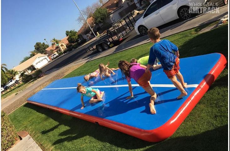 Pistas Infláveis para Brincar e Exercitar-se