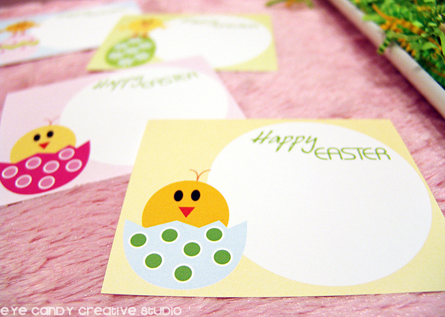 easter party food labels, easter party labels, happy easter