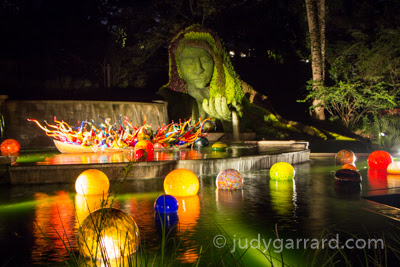Earth Goddess & Chihuly Fiori Boat/Niijima Floats at ABG
