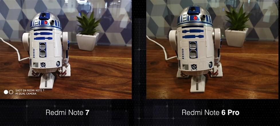Xiaomi Redmi Note 7 vs Redmi Note 6 Pro Camera comparison
