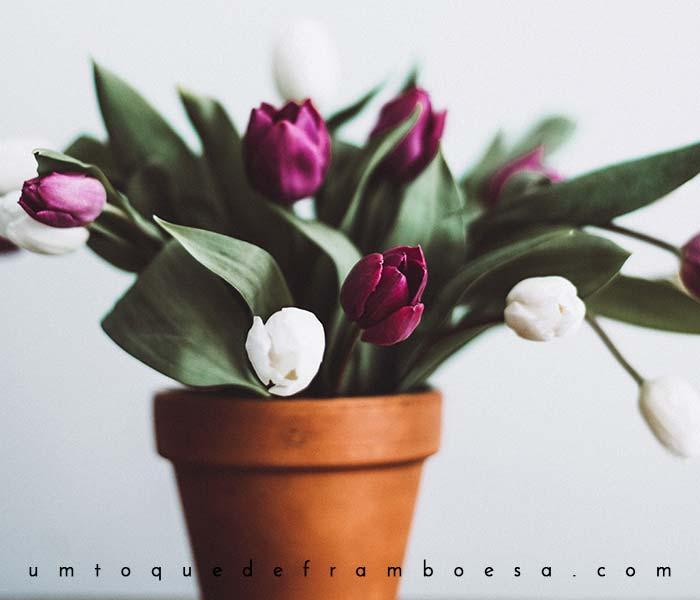 Inspire-se com flores na decoração de interiores