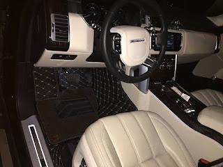 Mẫu lót sàn ô tô LandRover LBW -HD cao cấp