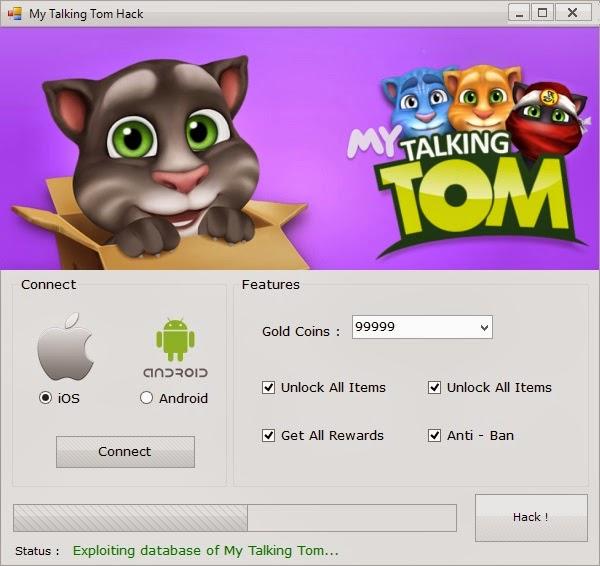 My Talking Tom Hack - My Talking Tom Cheats