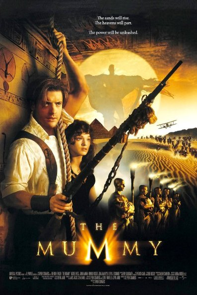 Poster Of The Mummy 1999 720p BRRip Dual Audio