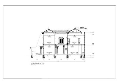 Tampak Rumah Klasik 3