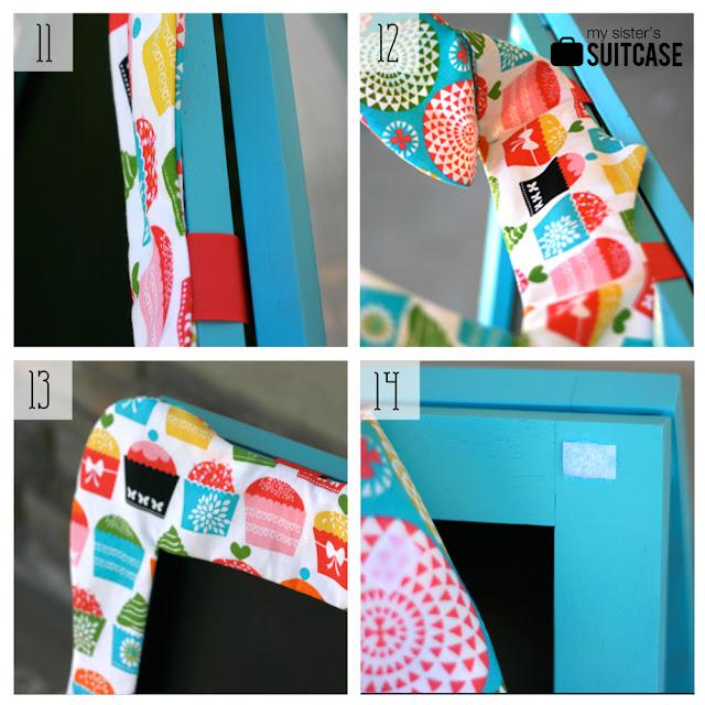 fabric frame easel