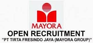 Lowongan Kerja PT. Tirta Fresindo Jaya (Mayora Group) Pasuruan