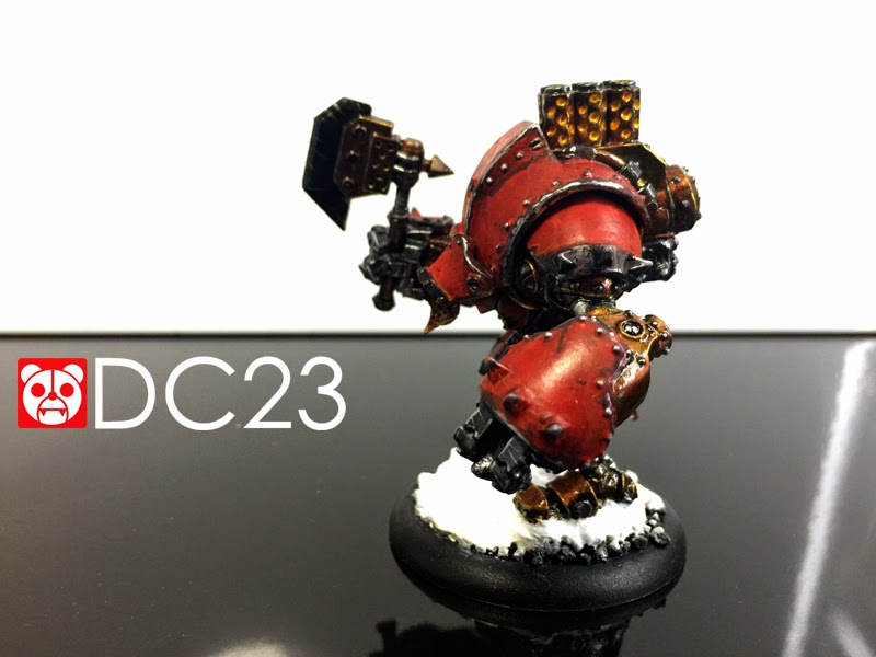 PP Warmachine Khador Juggernaut Warjack verDC23photo