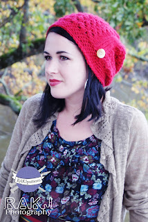 www.KristiSimpson.net, Stephanie slouchy hat crochet pattern