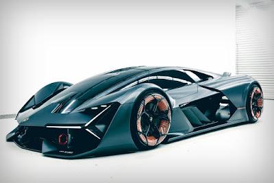 Mobil Lamborghini terzo millennio