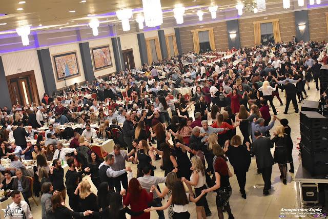 """Ο χορός του πολιτιστικού συλλόγου Βρουστίου """" Η ΠΛΑΤΑΝΑ"""" έγινε πλέον θεσμός"""