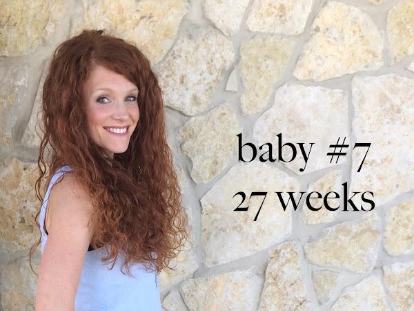 baby #7: pregnancy update 27+ weeks