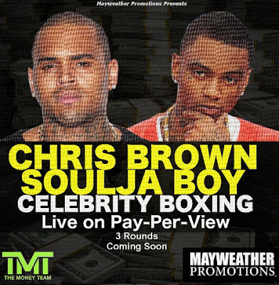 50 Cent and Floyd Mayweather encourage Soulja Boy and Chris Brown to fight