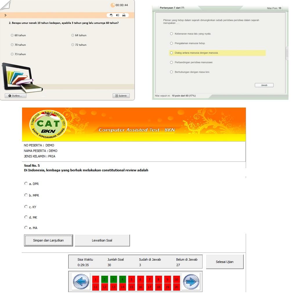 Download Gratis Soal-soal Tes Masuk CPNS (*Untuk Lulus CPNS, Pastinya Belajar)