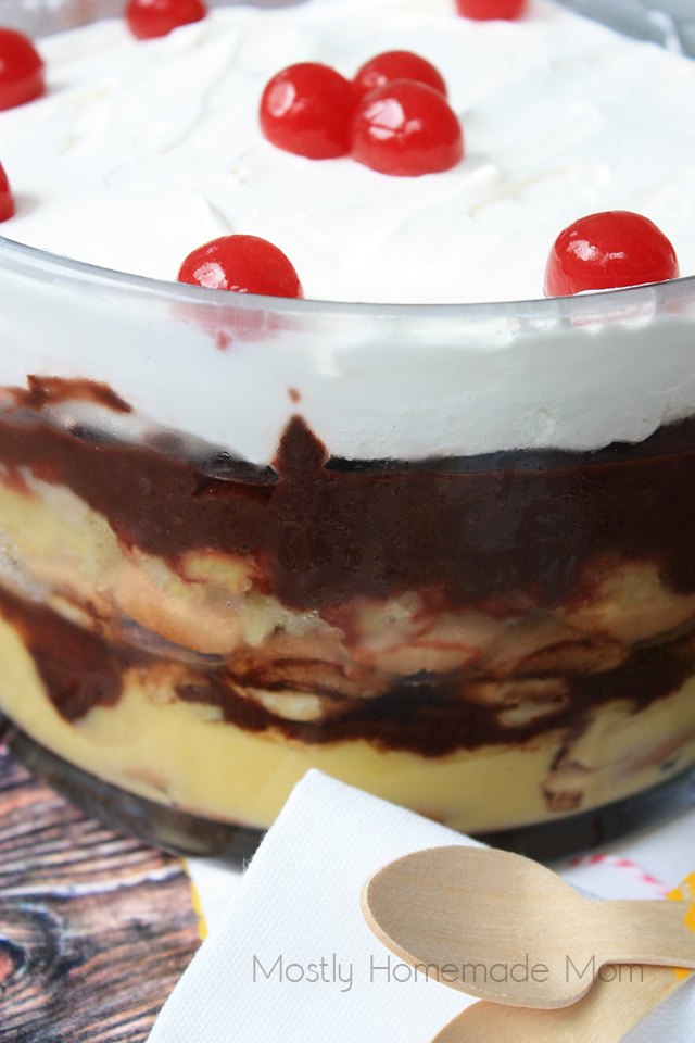 Banana Split Trifle paula deen