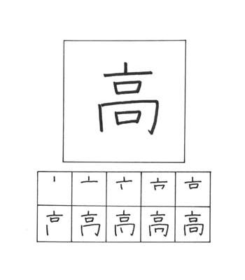 kanji tinggi