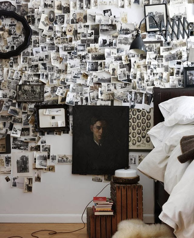 Blog maison - décorer un mur photos