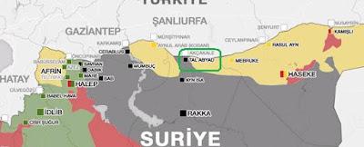 Afrin border area