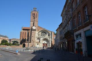 Toulouse. Place de St-Etienne i catedral