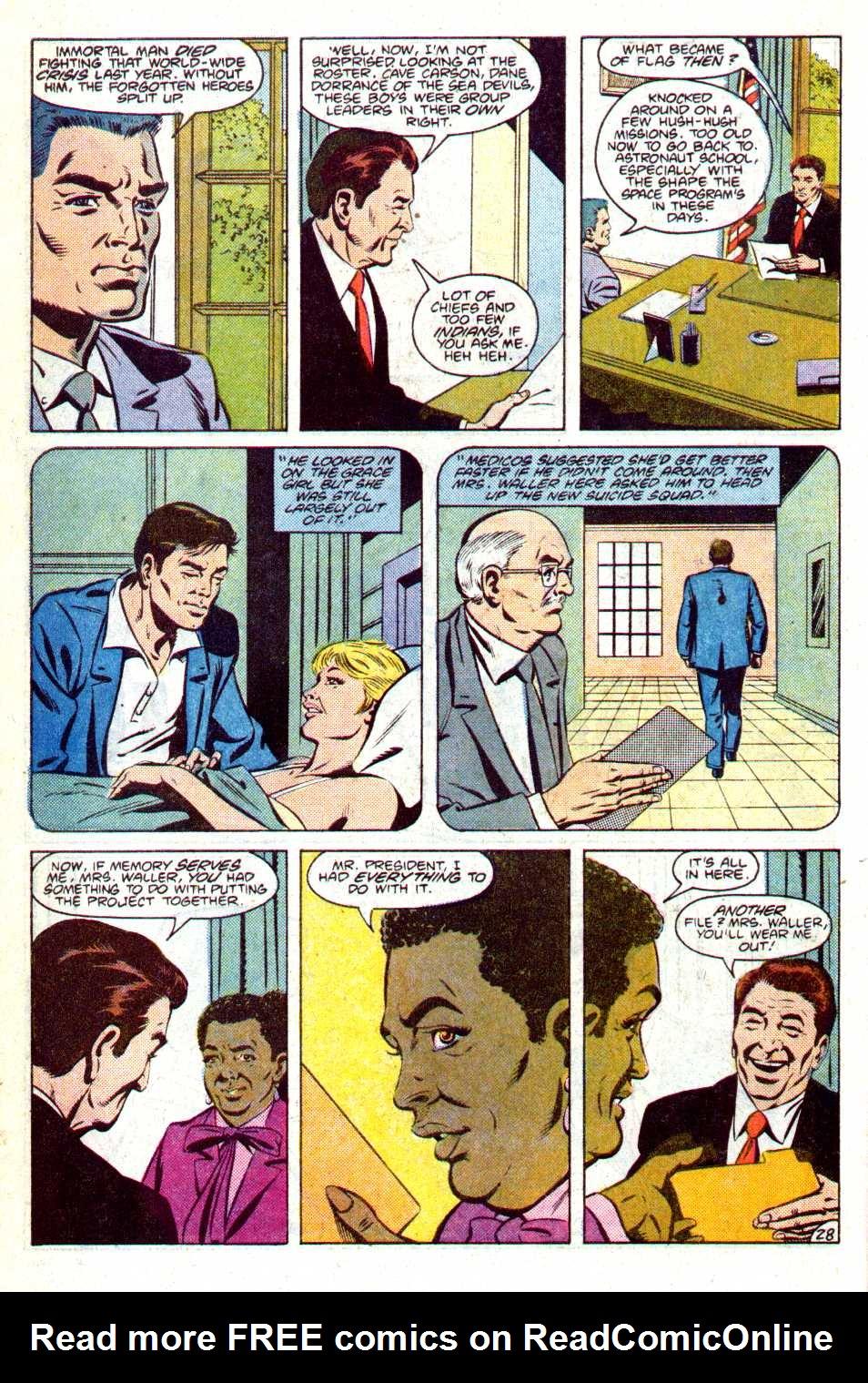 Read online Secret Origins (1986) comic -  Issue #14 - 31